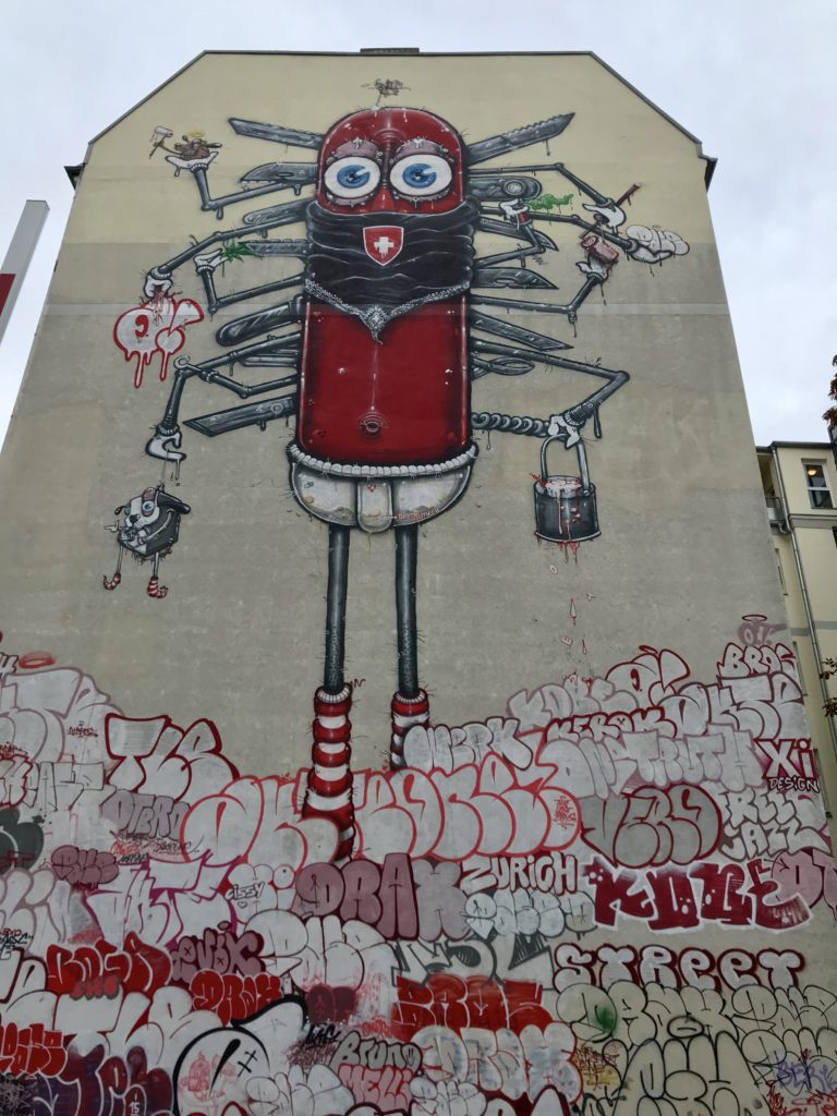 Graffiti veggmaleri