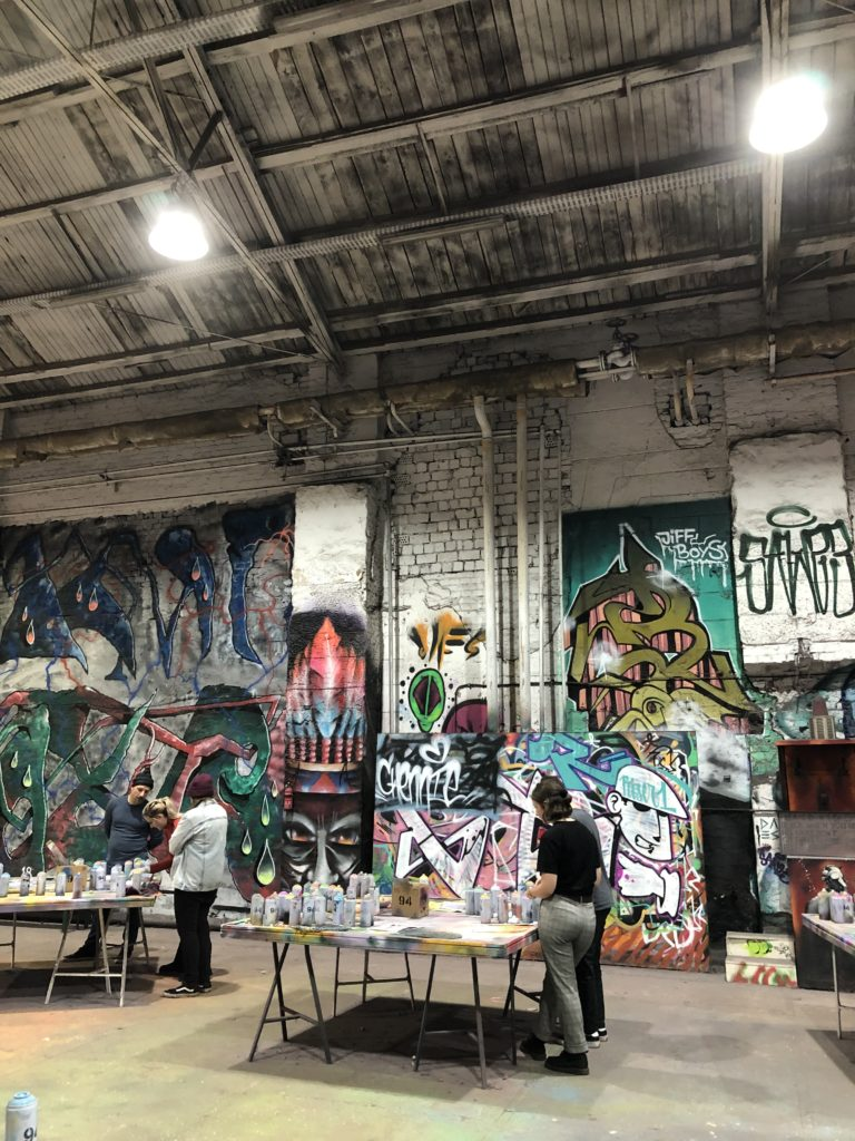 Hall for graffitikunst