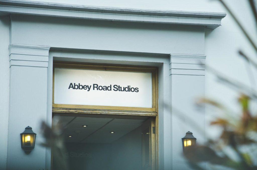 Inngangen til Abbey road studios
