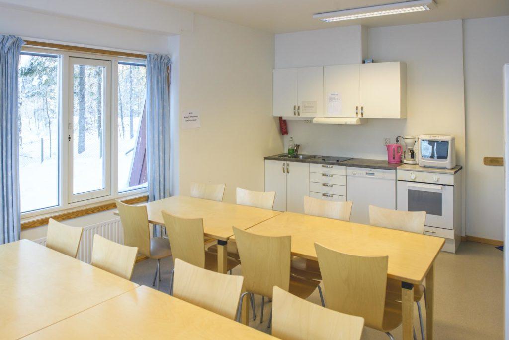 Elevkjøkken på Elverum folkehøgskole