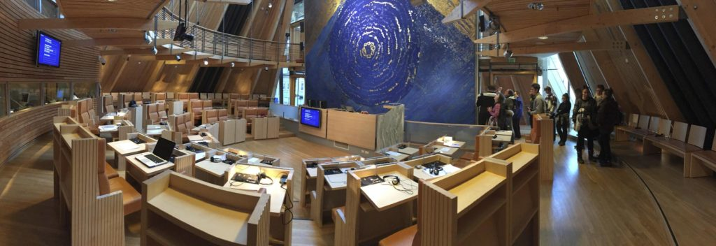 Overview picture of the Sami Parliament