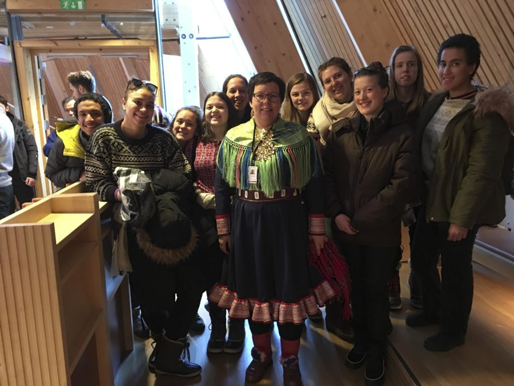 Group photo in the Sami Parliament