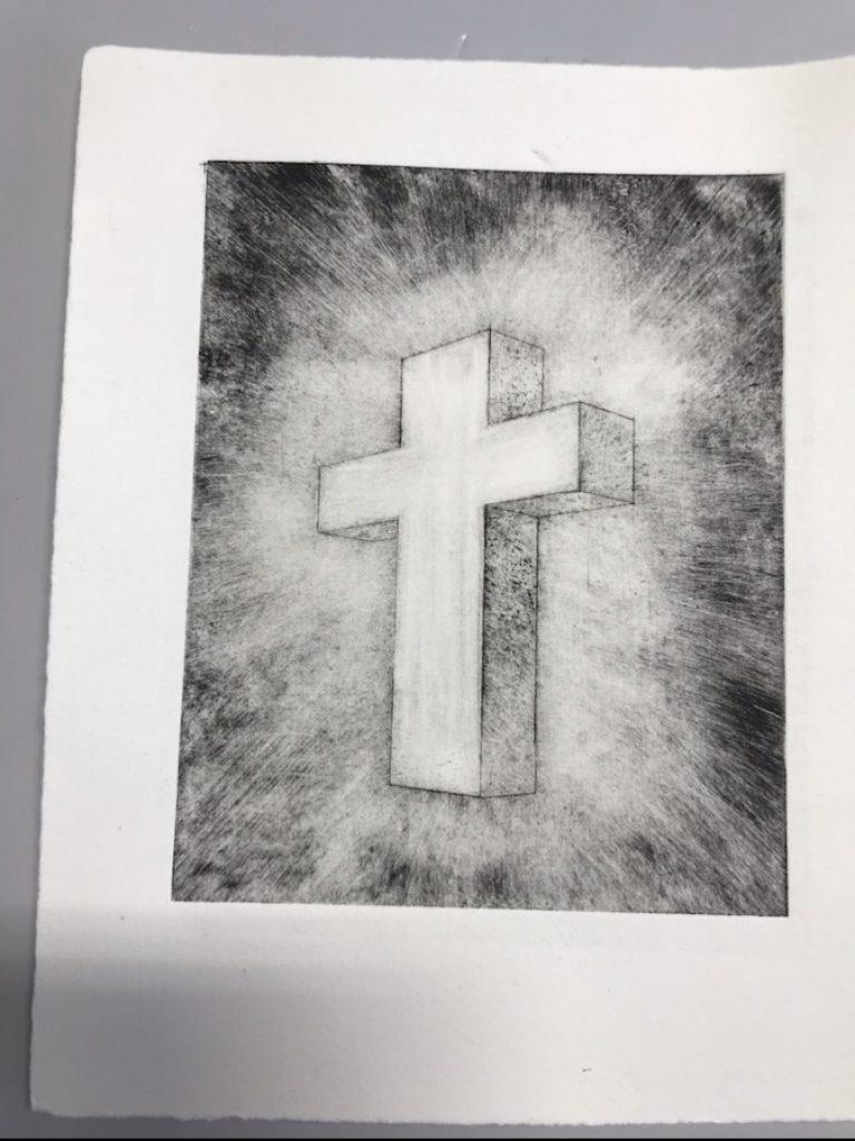 Dyptrykk av kors