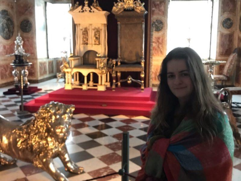 Elev i Rosenborg slott