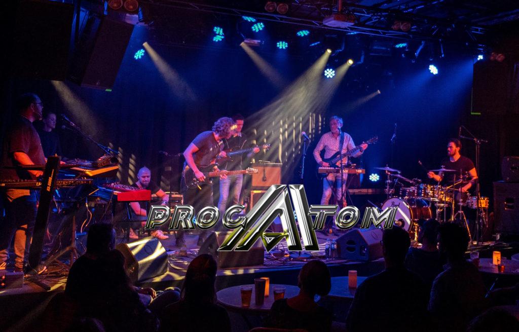 Bandet ProgAtom på scenen