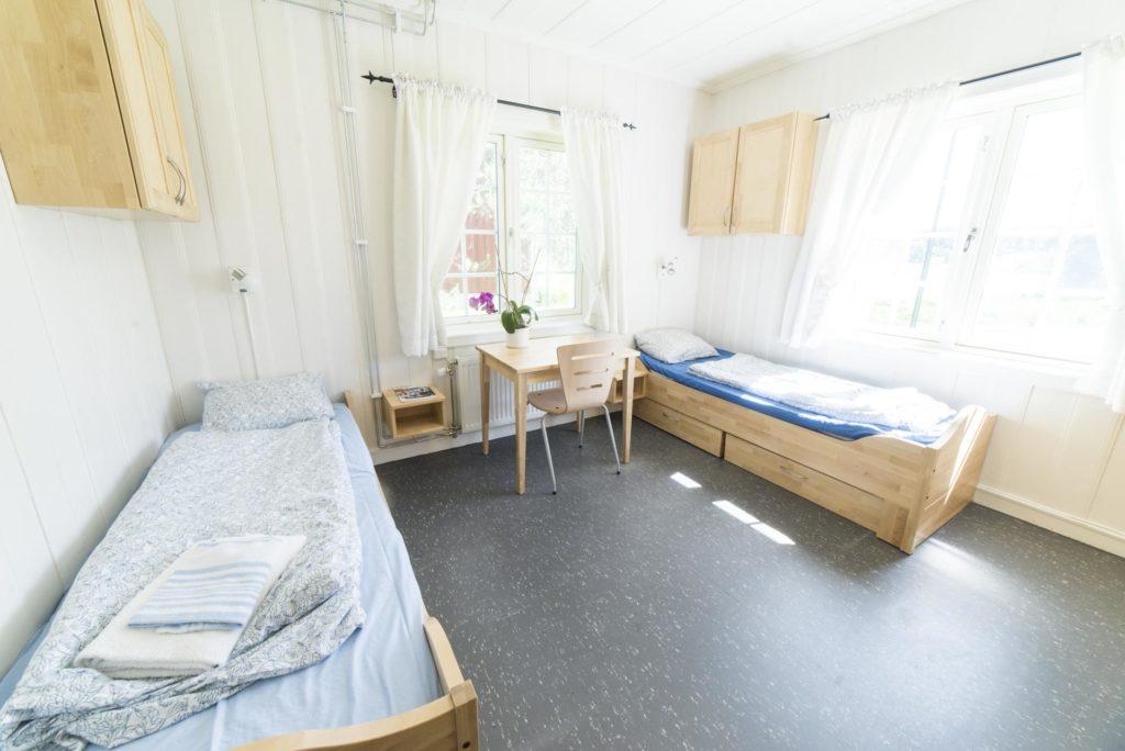 Internatrom på Elverum folkehøgskole