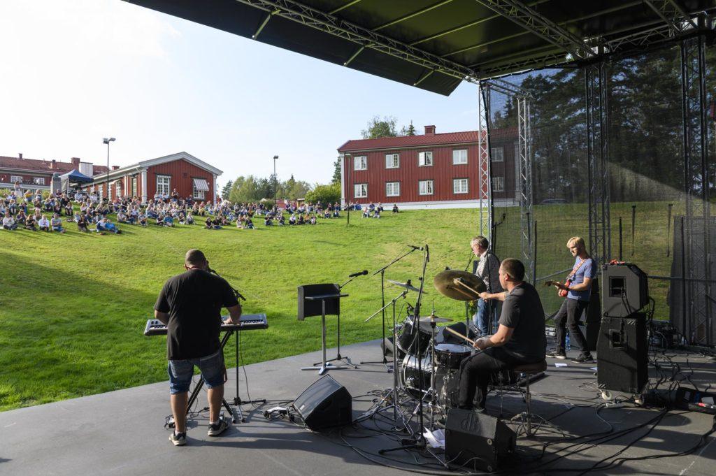 Musikere på scene